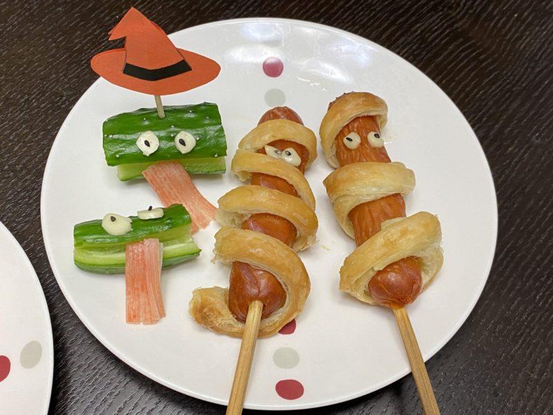 食育体験で作る料理